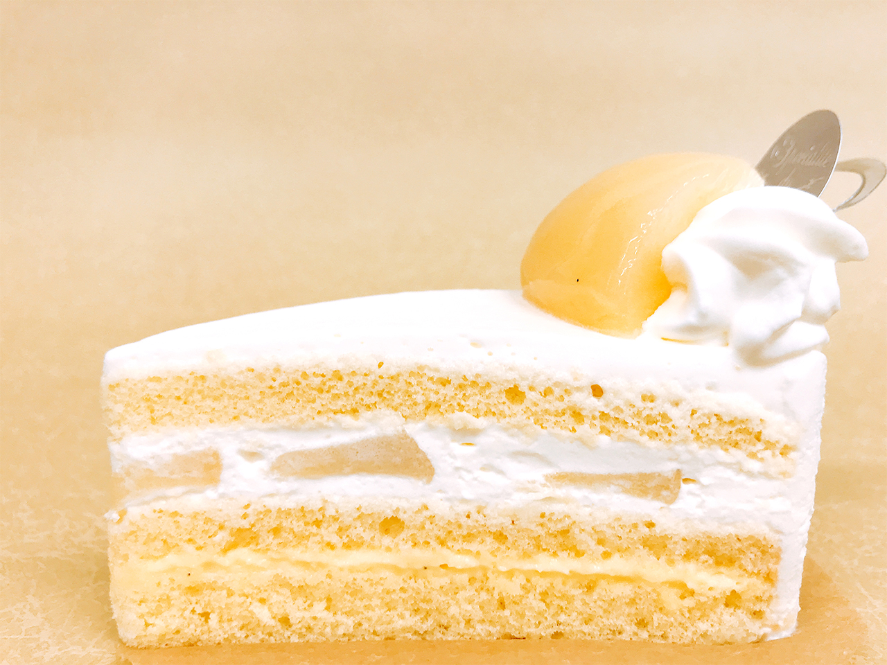 桃ショートケーキ