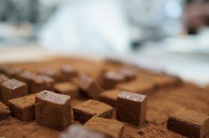 生チョコレートカット